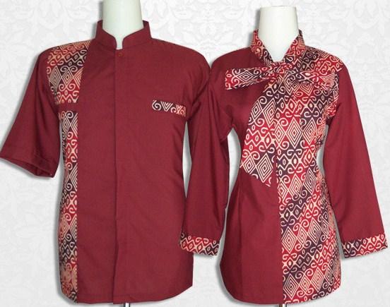 Model Baju Batik Couple Yang Agamis 085649255914 Grosir Batik